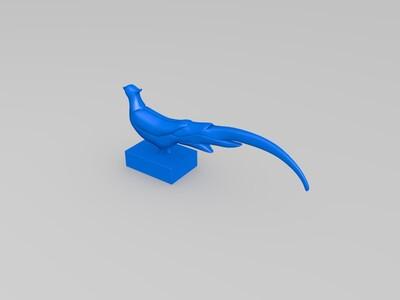 鸡-3d打印模型