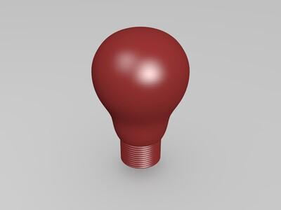 电灯泡-3d打印模型