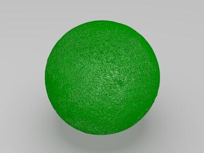 旋钮月球灯-3d打印模型