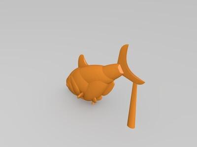 鱼-3d打印模型