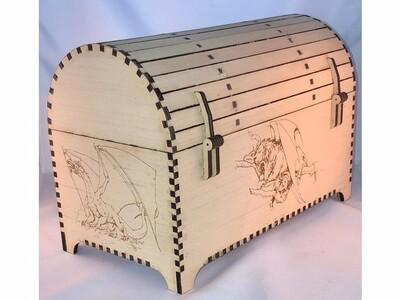宝箱 拼块-3d打印模型