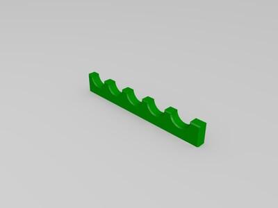 毛笔架-3d打印模型