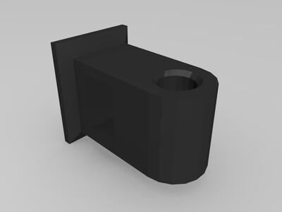 8mm光轴/钢轴 支座【青年创造工坊1周年】-3d打印模型