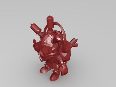 炸弹人LOL-3d打印模型