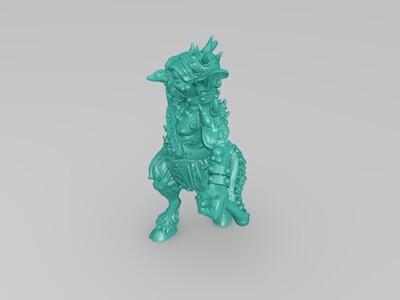 机械哥布林-3d打印模型
