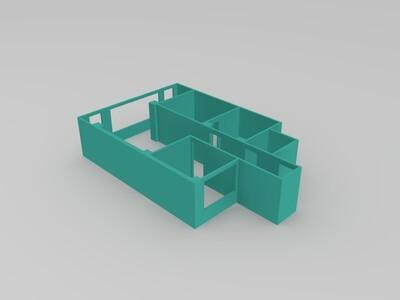 房屋建筑-3d打印模型