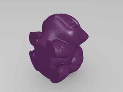 绿蛙种子-3d打印模型