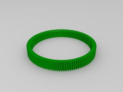 佳能EF镜头24-105的手动变焦环-3d打印模型