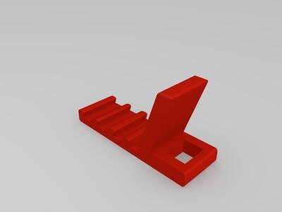 创意手机支架-3d打印模型