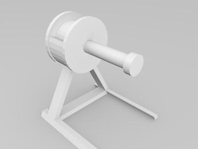 材料价-3d打印模型