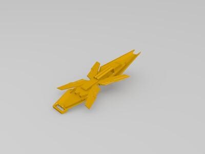 矛与盾-3d打印模型