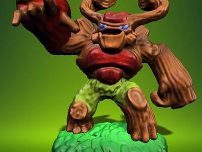 小龙斯派罗:巨人-3d打印模型