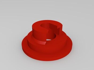 心异形 浮雕灯模型 3D打印模型-3d打印模型
