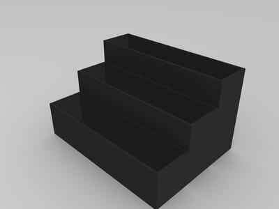 零件盒子分类-3d打印模型