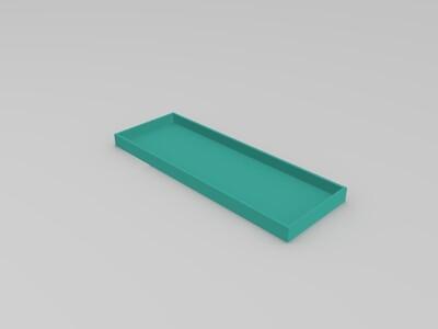中式花盆+储物盒-3d打印模型