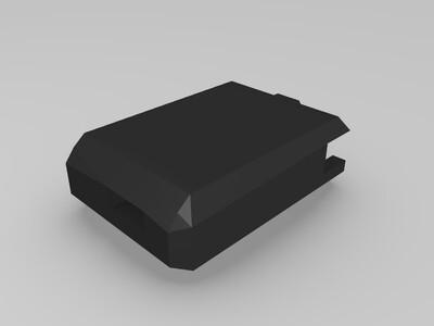 电脑拓展小屏幕/分屏小屏幕(HDMI)7寸-3d打印模型