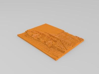 吉普车雕塑-3d打印模型