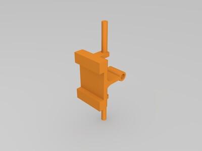 模型赛车后部配件-3d打印模型