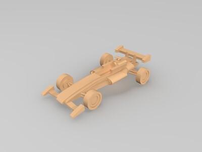 F4赛车-3d打印模型