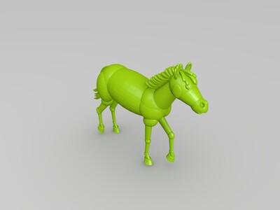 马踏飞燕-3d打印模型
