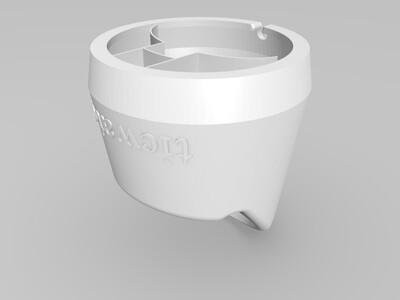 TicWatch 2智能手表充电底座-3d打印模型