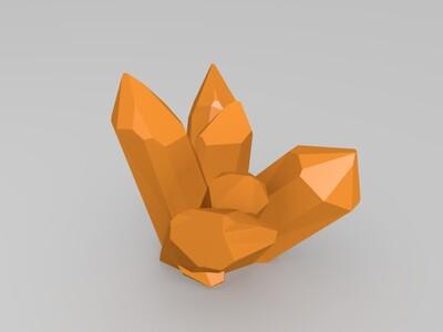 戒指组合-3d打印模型