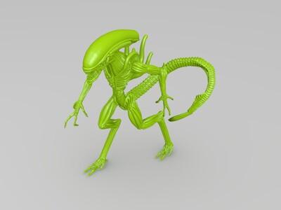 异形3D模型