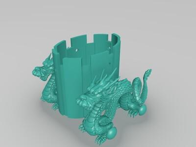 龙车-3d打印模型