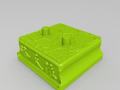 洛天依手办带动作-3d打印模型