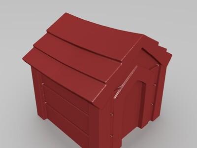 小狗-3d打印模型