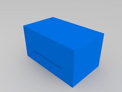 灌胶治具-3d打印模型