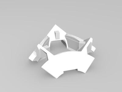 《传送门》里的爱心方块(超可爱)-3d打印模型