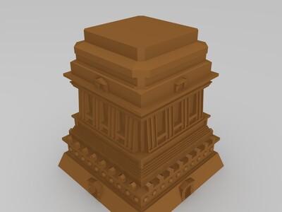 自由女神像(修复版)-3d打印模型