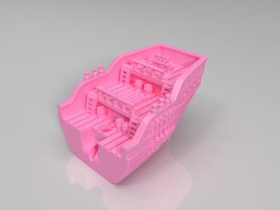 探险船-3d打印模型