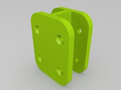 木板夹-3d打印模型