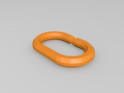 无限延伸链环-3d打印模型