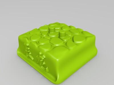 盒子十二生肖-辰龙-3d打印模型