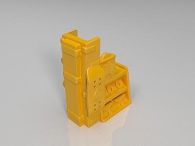 体育用品小店-3d打印模型