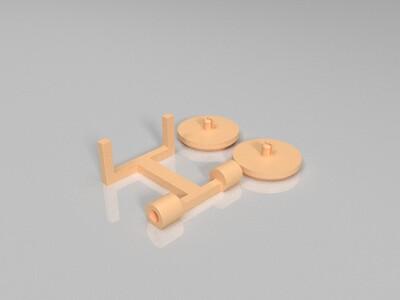 小摊子-3d打印模型