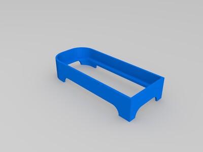 外置硬盘散热架-3d打印模型