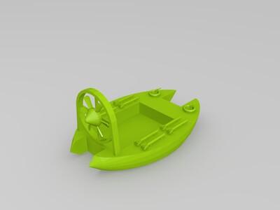 汽艇-3d打印模型