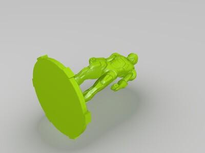 钢铁侠桌面摆件2-3d打印模型