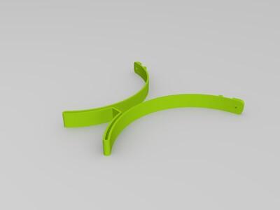 护目镜-3d打印模型