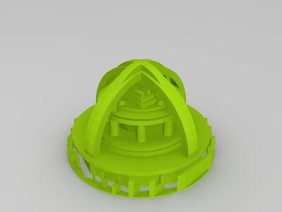未来城市-3d打印模型