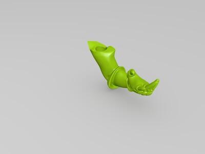 英雄联盟-龙的传人-李青-盲僧(高精度)-3d打印模型
