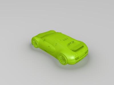 布加迪威龙-3d打印模型