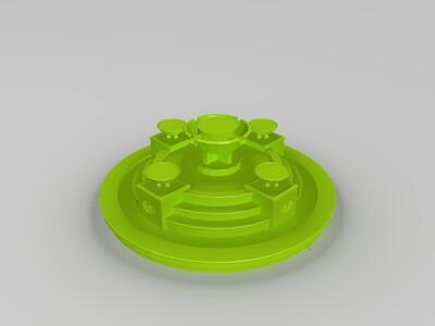 喷泉-3d打印模型