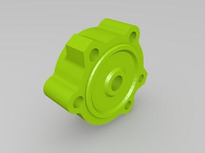 油泵体-Model-3d打印模型