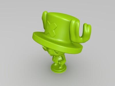 海贼王-乔巴(萌萌哒)-3d打印模型