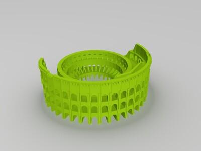 罗马斗兽场-3d打印模型